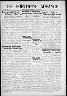 Porcupine Advance, 5 Mar 1924