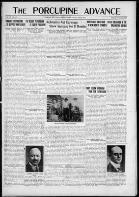 Porcupine Advance, 23 Apr 1924