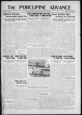 Porcupine Advance, 30 Apr 1924