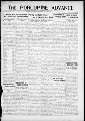 Porcupine Advance, 30 Jul 1924