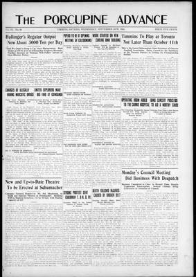 Porcupine Advance, 24 Sep 1924