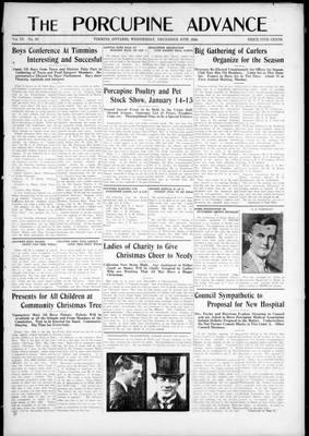 Porcupine Advance, 10 Dec 1924