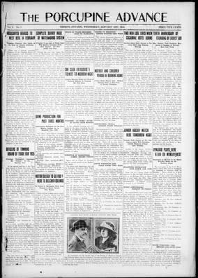 Porcupine Advance, 21 Jan 1925