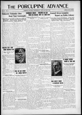 Porcupine Advance, 28 Jan 1925