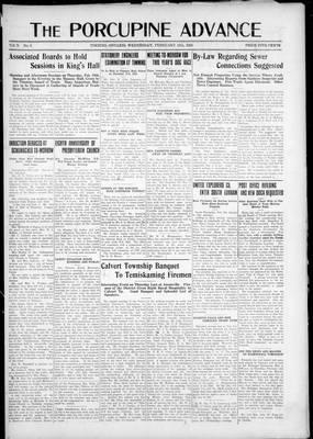Porcupine Advance, 11 Feb 1925