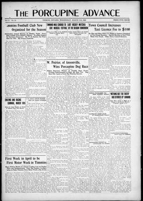 Porcupine Advance, 11 Mar 1925