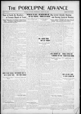 Porcupine Advance, 18 Mar 1925