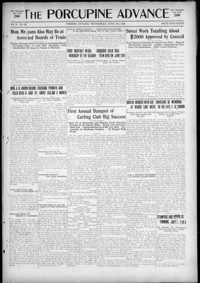 Porcupine Advance, 3 Jun 1925