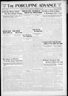 Porcupine Advance, 17 Dec 1925