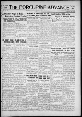 Porcupine Advance, 14 Jan 1926