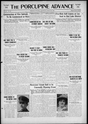 Porcupine Advance, 10 Jun 1926