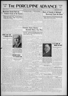 Porcupine Advance, 17 Jun 1926