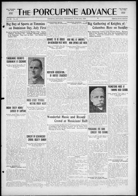 Porcupine Advance, 24 Jun 1926