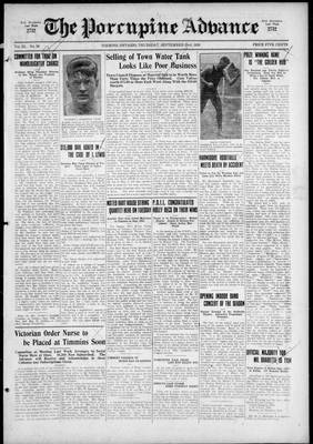 Porcupine Advance, 23 Sep 1926