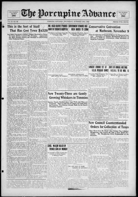 Porcupine Advance, 28 Oct 1926
