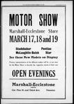 MARSHALL-ECCLESTONE STORE - Motor show