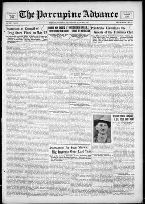 Porcupine Advance, 26 May 1927
