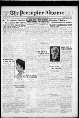 Porcupine Advance, 9 Jun 1927