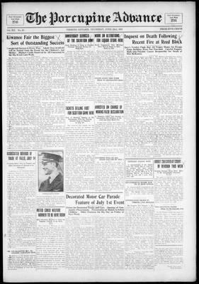 Porcupine Advance, 23 Jun 1927