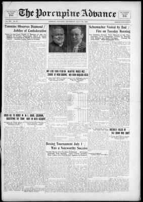Porcupine Advance, 7 Jul 1927