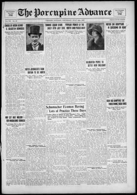 Porcupine Advance, 14 Jul 1927