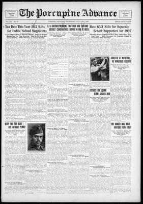 Porcupine Advance, 28 Jul 1927