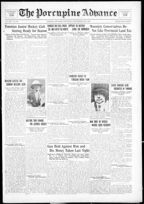 Porcupine Advance, 1 Dec 1927