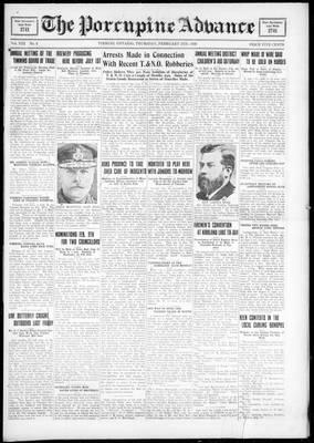 Porcupine Advance, 2 Feb 1928