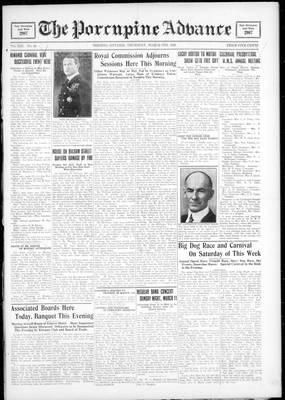 Porcupine Advance, 8 Mar 1928