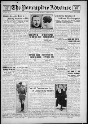 Porcupine Advance, 5 Apr 1928