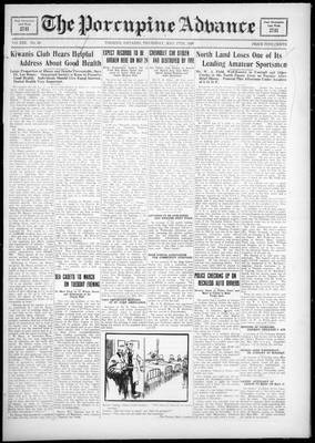 Porcupine Advance, 17 May 1928