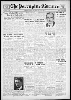 Porcupine Advance, 12 Jul 1928