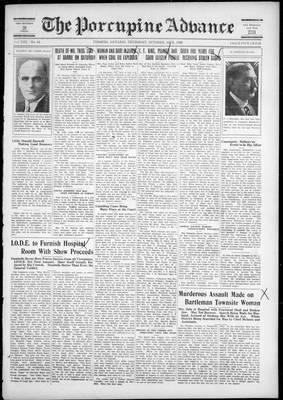 Porcupine Advance, 18 Oct 1928