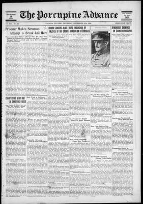 Porcupine Advance, 27 Dec 1928