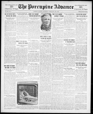Porcupine Advance, 28 Feb 1929