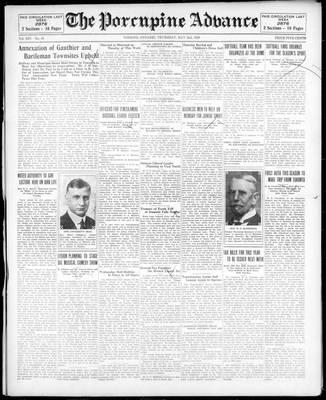 Porcupine Advance, 2 May 1929