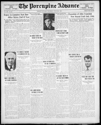 Porcupine Advance, 20 Jun 1929