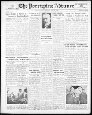 Porcupine Advance, 18 Jul 1929