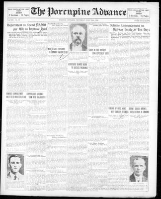 Porcupine Advance, 25 Jul 1929