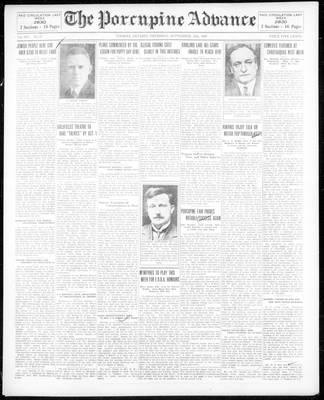 Porcupine Advance, 12 Sep 1929