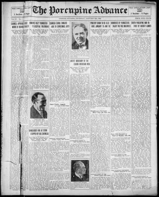 Porcupine Advance, 2 Jan 1930