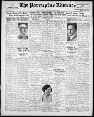Porcupine Advance, 9 Jan 1930