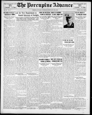 Porcupine Advance, 27 Feb 1930