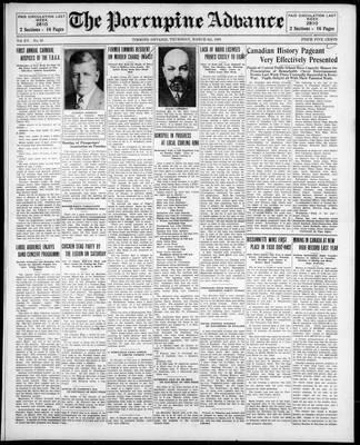 Porcupine Advance, 6 Mar 1930