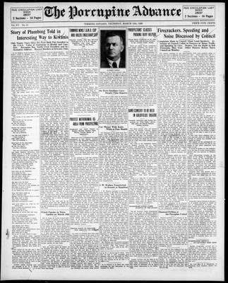 Porcupine Advance, 13 Mar 1930