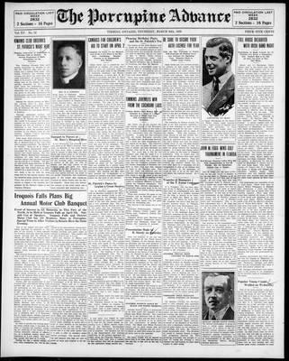 Porcupine Advance, 20 Mar 1930