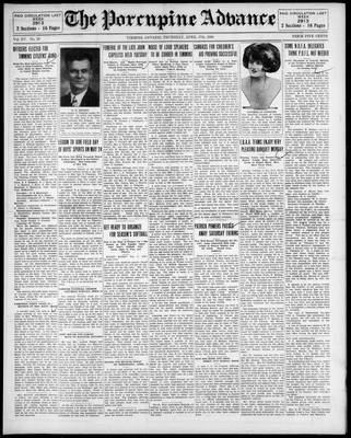 Porcupine Advance, 17 Apr 1930