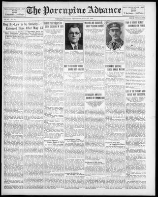 Porcupine Advance, 1 May 1930