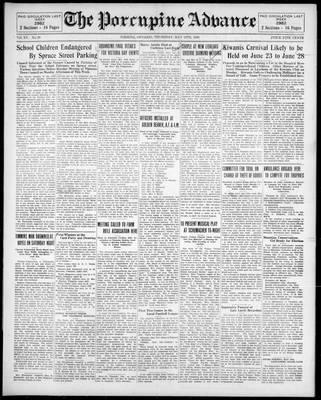 Porcupine Advance, 15 May 1930