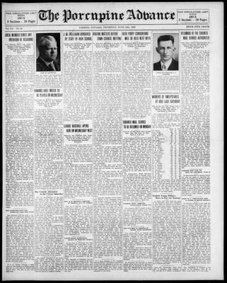 Porcupine Advance, 12 Jun 1930